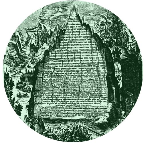 Emerald Tablet Round